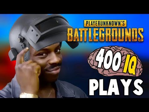 PUBG - WHEN PLAYERS HAVE 400 IQ (Ingenious Plays)