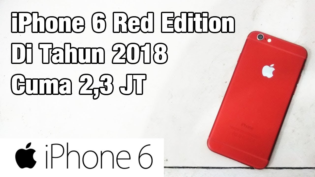 iPhone 6 Banting Harga Sekarang Cuma 2 Jutaan | Unboxing ...