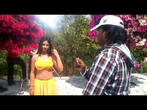 Babushan and Riya Song Making By Anthony