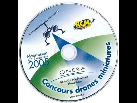 ONERA Concours de drones miniatures. Mourmelon 12/15 Septembre 2005.