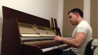 Alan Taemur - Brand New Me ( Alicia Keys) Piano Cover