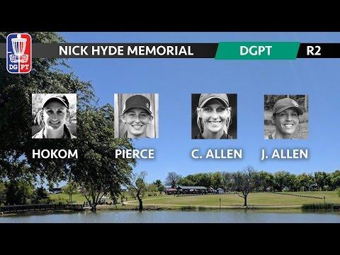2017 DG Pro Tour - Nick Hyde Memorial - Sarah Hokom, Paige Pierce, Catrina Allen, Jen Allen (R2F9)
