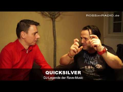 DAS ROSS IM RADIO REDET ... mit ... DJ QUICKSILVER (Interview 11.03.2017)