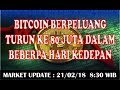 Harga Bitcoin ke Rupiah Turun Drastis JANGAN PANIK !