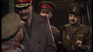 General Melchett visits the troops - Blackadder - BBC