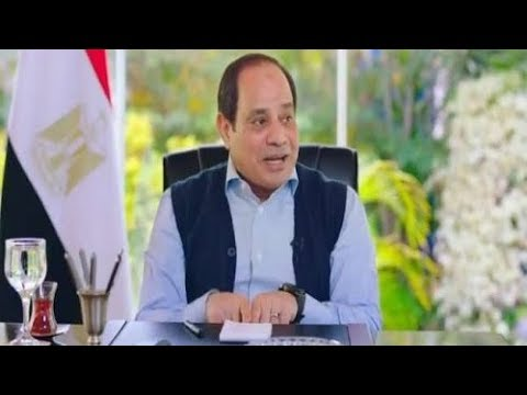 The president  Al Sisi ' s   interview