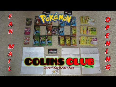 Pokemon EX Fan Mail Openings - ColinsClub - (Bravo)