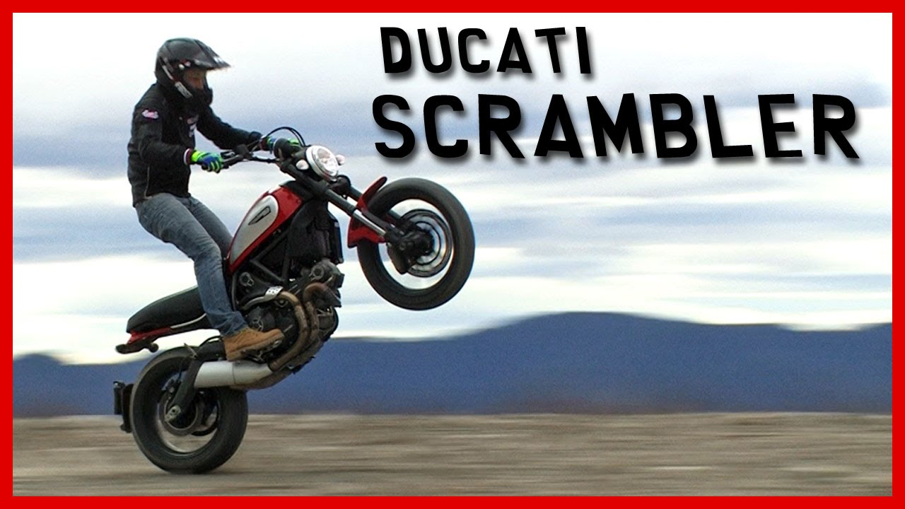 画像: Essai Ducati Scrambler : une moto étonnamment... SOLIDE ! (English Subtitles) youtu.be