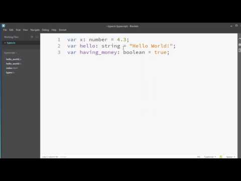 Primitive Types in TypeScript (number, string, boolean, undefined, null)
