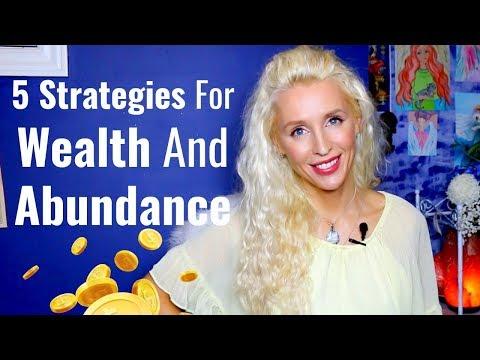 5 STRATEGIES  For WEALTH And ABUNDANCE | #MoneyMondays