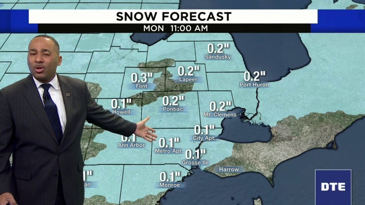 Metro Detroit weather forecast: Snow expected this week