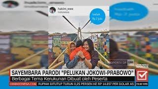 Ini Dia Pemenang Sayembara Parodi 'Pelukan Jokowi-Prabowo'
