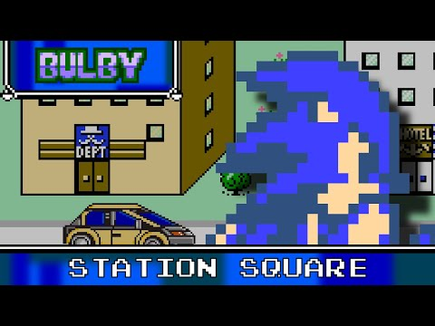 Station Square 8 Bit - Sonic Adventure