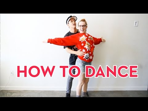 How To Dance In The Club  Kyle Hanagami & Haley Fitzgerald