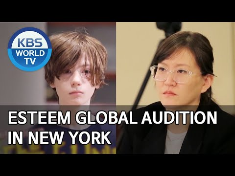 ESteem Global Audition in New York [Boss in the Mirror/ENG/2