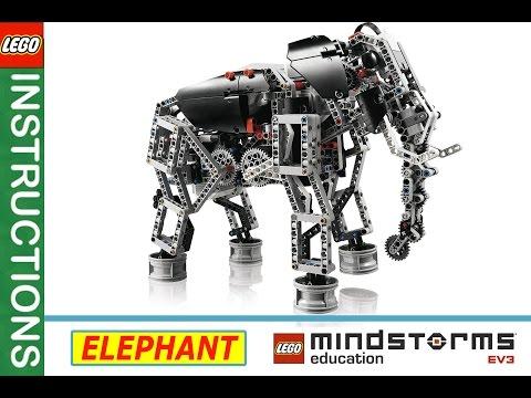 lego minstorms EV3 instruction 2016 ELEPHANT   Лего студия в Броварах   education