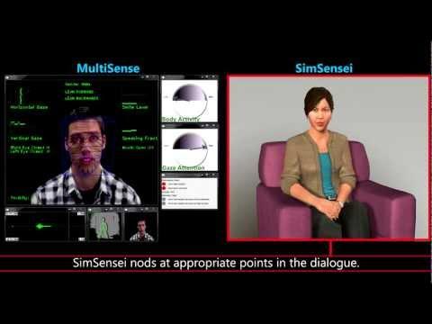 SimSensei & MultiSense: Virtual Human and Multimodal Perception for Healthcare Support