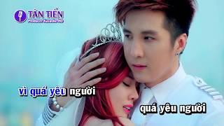 [ Karaoke HD ] Chỉ Vì Anh Quá Yêu - Tone Nam Full Beat ✔