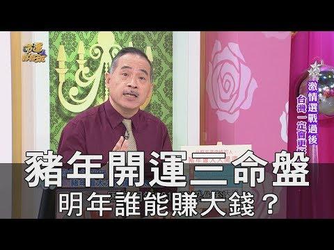 【精華版】豬年開運三命盤!明年誰能賺大錢?