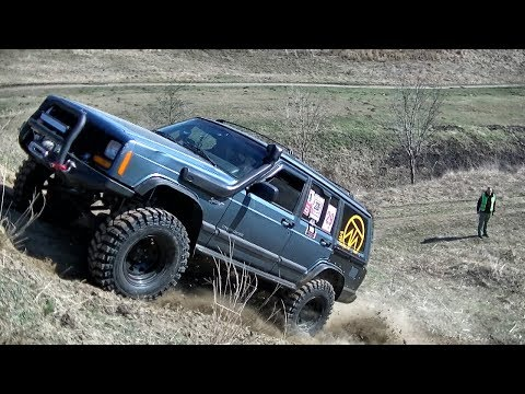 Jeep Cherokee XJ - How it should be driven