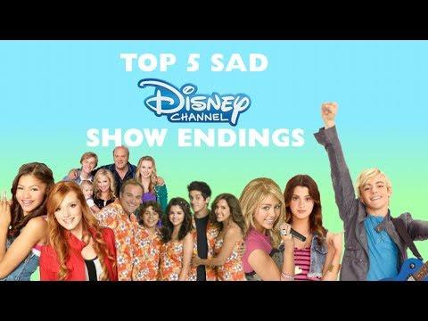 Top 5 Disney Show Endings (READ DESC)