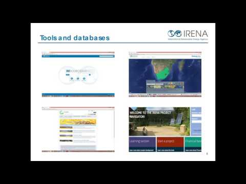 IRENA Sustainable Energy Marketplace: Promoting Renewable En