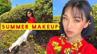 Chit Chat GRWM | GLOWY Starry Blush Summer Makeup Tutorial!