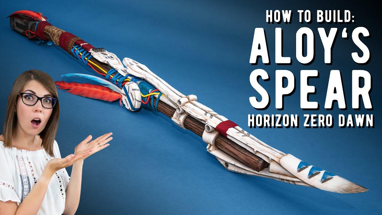 Foam Spear Tutorial - Horizon Zero Dawn Cosplay
