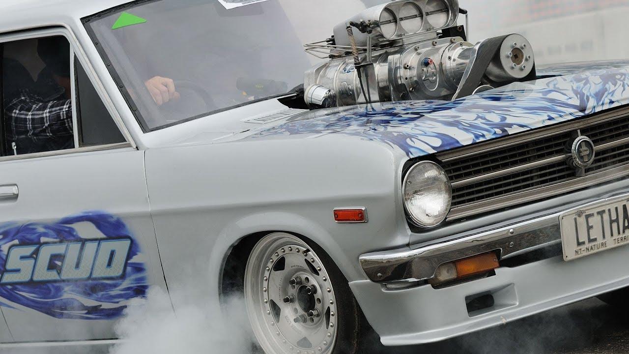 Datsun 1200 Blown V8 LETHAL | Doovi
