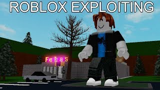 ROBLOX EXPLOITING #28 - TROLLING ROLEPLAYERS
