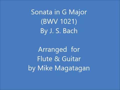 Sonata In G Major (BWV 1021) For Flute & Guitar