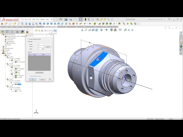 SolidCAM 2016 - 4th Axis Transform
