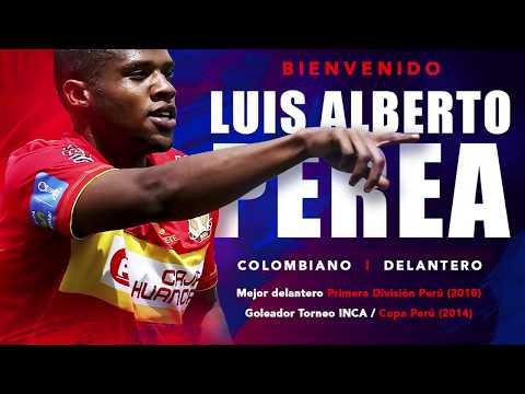 El Goleador Colombiano Luis Alberto Perea, Se Convierte En El Cuarto Extranjero