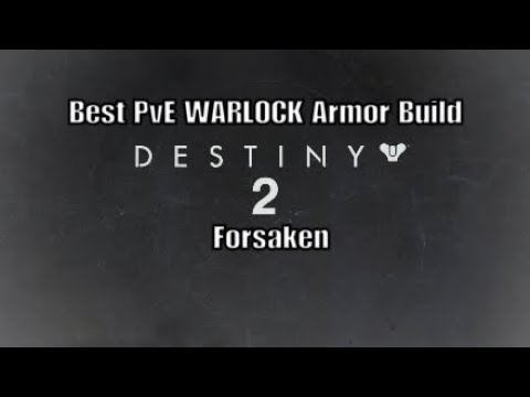 Destiny 2: Best WARLOCK Armor build Forsaken PvE (Survival & Readiness) shorter version