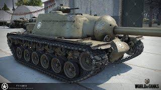 Танкосмотр2019 #22. США. ПТ-САУ. (ветка T110E3)   World of Tanks