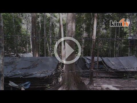 Foto bukti kem pemerdagangan manusia wujud di Malaysia