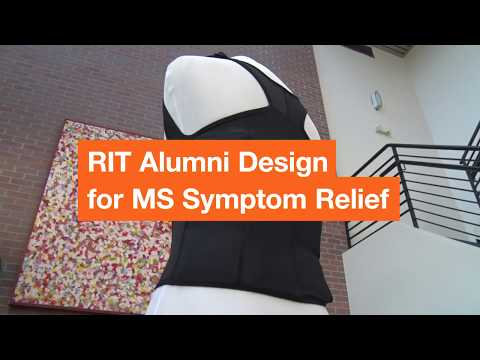 ThermApparel - RIT Alumni Design for Multiple Sclerosis Symptom Relief