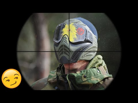 Paintball Sniper DESTROYING Cheaters - Paintball Wars