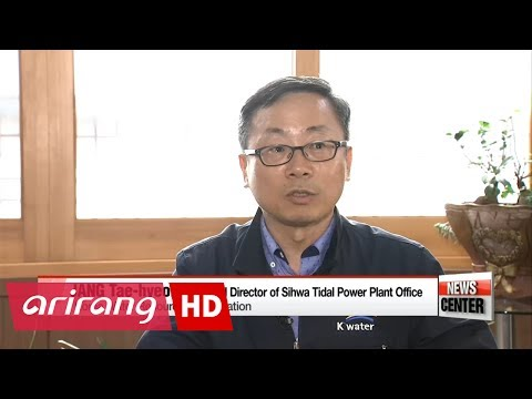 Sihwa tidal power plant poses as good example in search for renewable energy