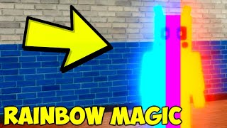 How To Get Rainbow Magic Badge in Roblox Piggy RP
