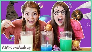 Mystery Harry Potter Surprise Bath Bomb Challenge / AllAroundAudrey