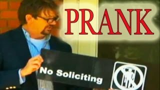 Door to door Salesman Prank