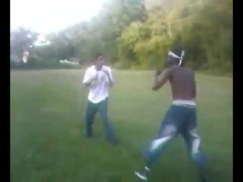 Fight Harford county MD Black John vs white mike