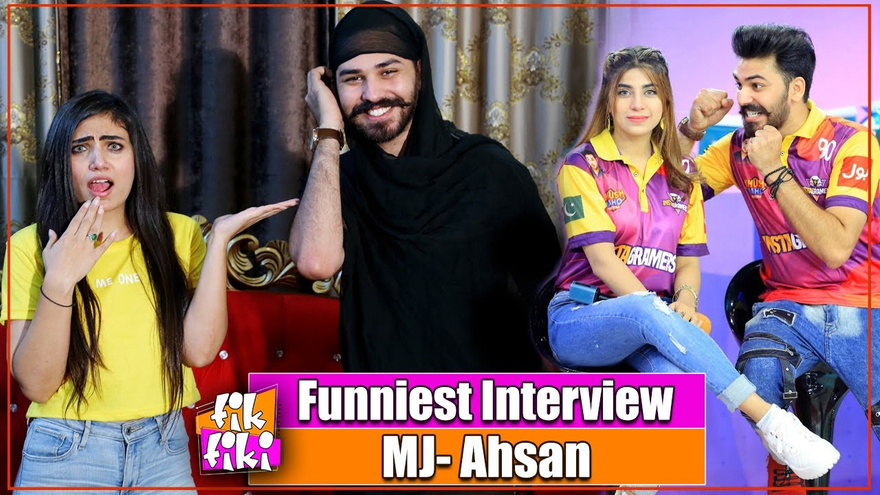 MJ Ahsan And Dr Madiha Are Not Lovers | Funniest Interview | TikTok Star | Dr Madiha | Tik Tiki