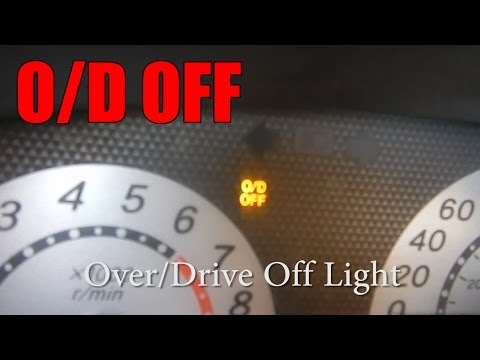 O/D OFF Light is on, here's what to do!