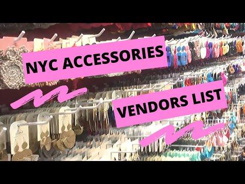 NYC ACCESSORIES WHOLESALE VENDORS LIST