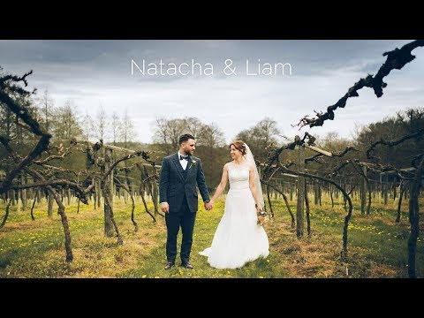 Old Luxters Barn wedding highlights at Henley-on-Thames | Natacha & Liam