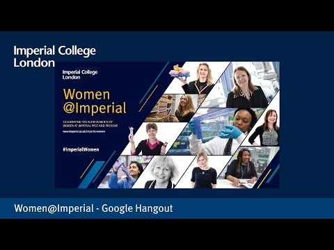 Women@Imperial - Google Hangout