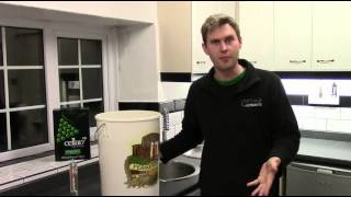 How To Brew A Cellar7 Sauvignon Blanc White Wine Kit By Brewbitz Homebrew Shop