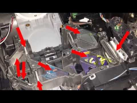 How to clean or cleaning LCD projector (lens, optics, chips, covers, fans, motherboard)